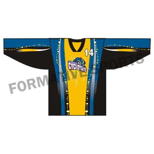 Customised Ice Hockey Jerseys Manufacturers in Congo